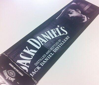 Licensed JACK DANIELS MAT RUBBER BACK BAR RUNNER PUB Christmas GIFT .....FACE