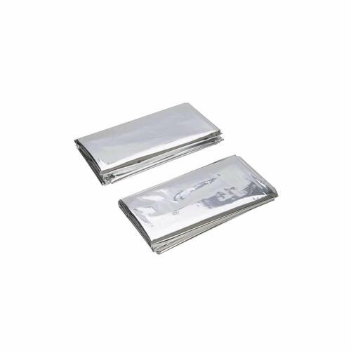 Silverline 226306 Emergency Foil couvertures-Lot de 2