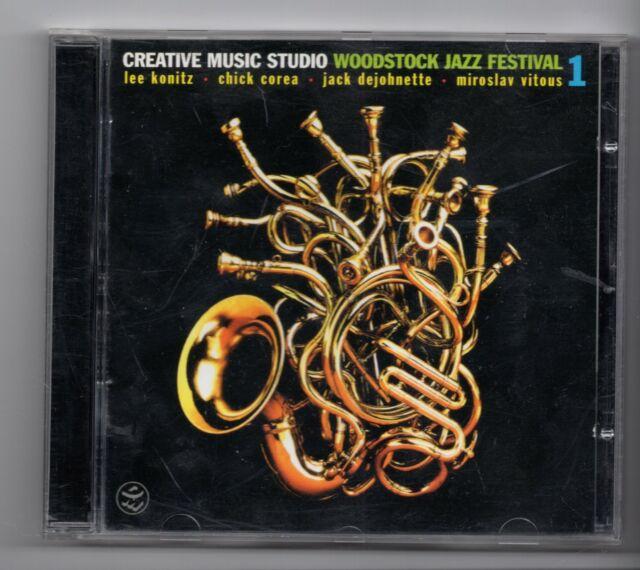 (JG974) Creative Music Studio, Woodstock Jazz Festival 1 - 1997 CD