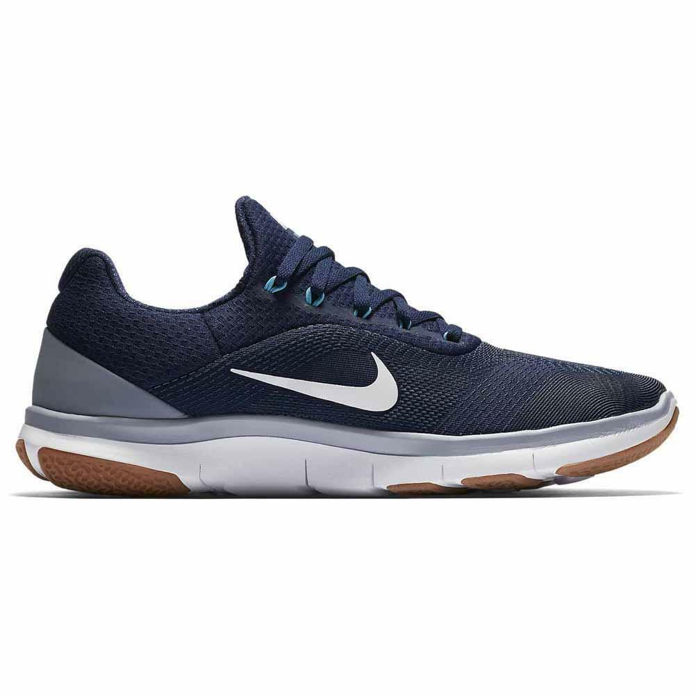 Hombre NIKE FREE FREE FREE TRAINER V7 Binary Azul Training Trainers 898053 402 50aaa4