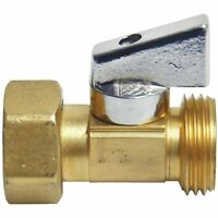 3/4 Danco Strait Stop Garden Hose Thread Ball Valve