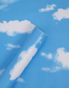 BLUE-SKY-CLOUD-WALLPAPER-PVC-STICKY-BACK-PLASTIC-BEDROOM-FABLON-SELF-ADHESIVE-UK