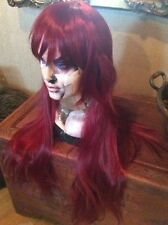 New Anime Straight Long Red Party Fashion Wig #120