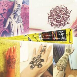 1Stk-Schwarz-Tattoo-Salbe-Koerper-Kunst-Farbe-Tinte-Temporaere-Tattoo-kit-DIY-E2W2