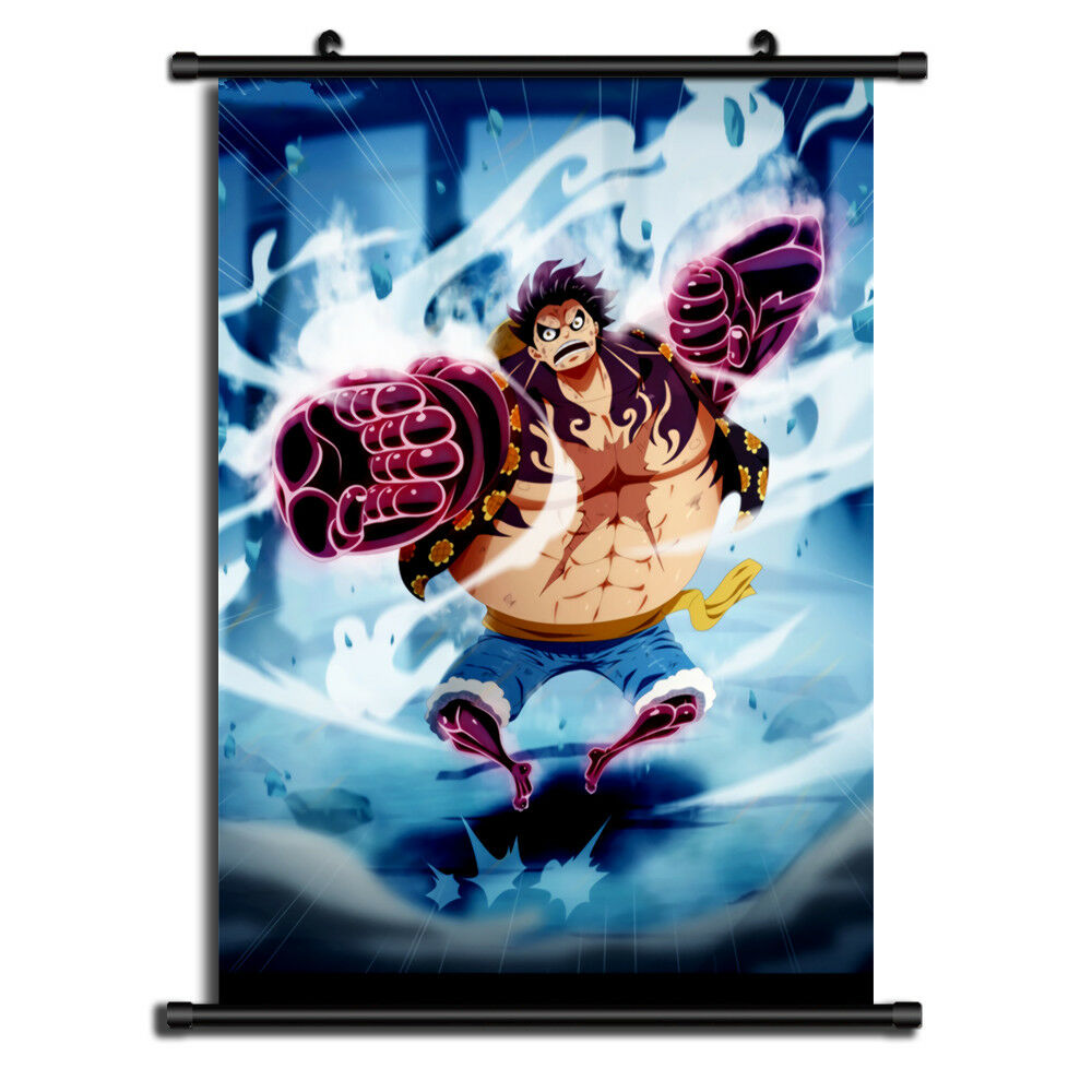 One Piece HD Print Anime Wall Poster Scroll Room Decor