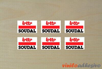 Pegatina Sticker Vinilo Lotto Soudal Ref2 Autocollant Aufkleber Adesivi