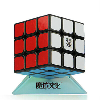 Moyu 3x3x3 GTS Professional Magic Speed Cube Black Educational Puzzle Twist Toy