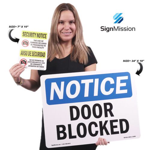 Do Not Ring Doorbell Or Knock SignHeavy Duty Sign or Label OSHA Notice