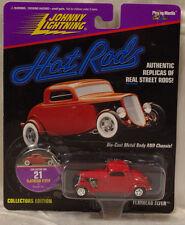 Johnny Lightning Hot Rods Flathead Flyer #21 1991 Red