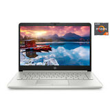NEW HP 14 inch HD AMD Ryzen 3 3.5GHz 4GB 128GB SSD Radeon Vega 3 Windows 10 Laptop