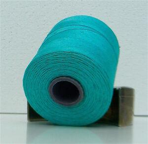 Hilados-de-lino-en-la-bobina-para-bordar-y-tejer-Turquoise-turquesa