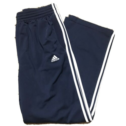 Navy Blue Adidas Trackpants/joggers Size L Men