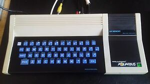 RARE-VINTAGE-MATTEL-AQUARIUS-COMPUTER-SYSTEM-VGC