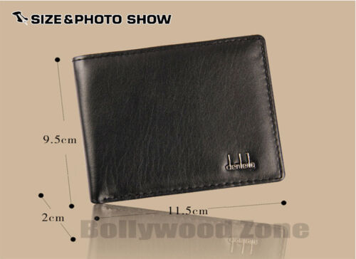 New Men PU Genuine Leather Wallet For Men Multi Pockets Free UK Post