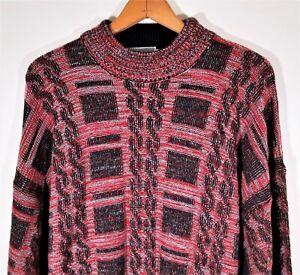 Vintage-80s-90s-McGregor-Herren-XL-Pullover-COOGI-Bill-Cosby-Stil-Geometrische-abstrakte