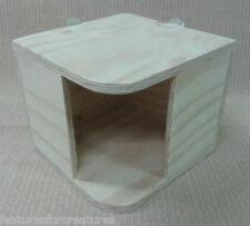 PINO ad angolo in legno compensato Play House 4 GABBIA CINCILLA' , Cavie, octodon degus, CONIGLIO NANO