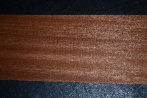 Sapele Ribbon Stripe Wood Veneer Sheets 4.25 x 34 inches                 6773-25