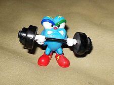 1995 Vintage Acog 96 Atlanta Olympic Mascot Izzy Weightlifting Figure