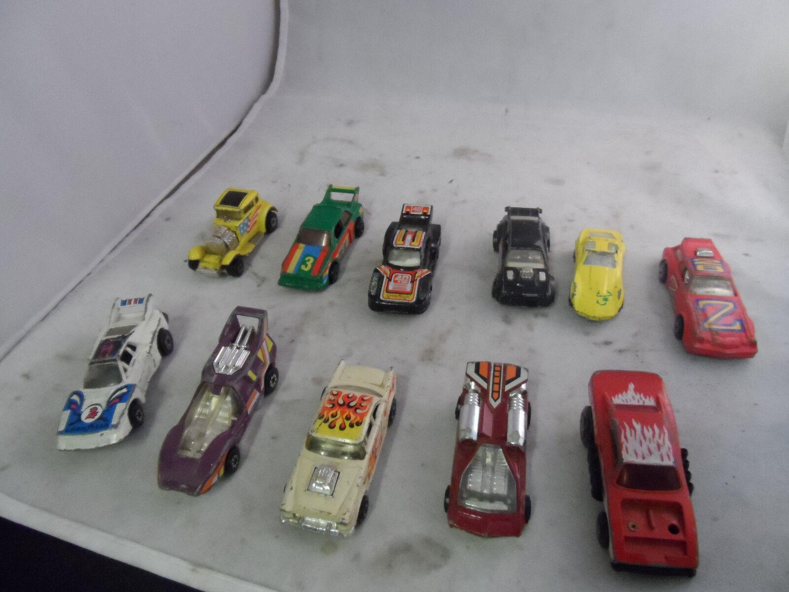 Lot of 11 Sport Cars - Kenner, Kidco, Matchbox