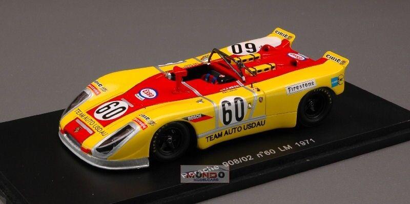PORSCHE 908/02  60 Le Mans 1971 1:43 Spark SP1981