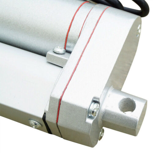 "Linear Actuator 18/"" inch Stroke 14mm//s 220lbs 12V DC Motor W// Remote Bracket Set"