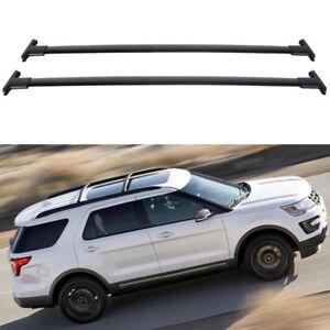 Roof Rack Cross Bars Set For 2011 2012 2013 2014 2015 Ford Explorer 4 Door