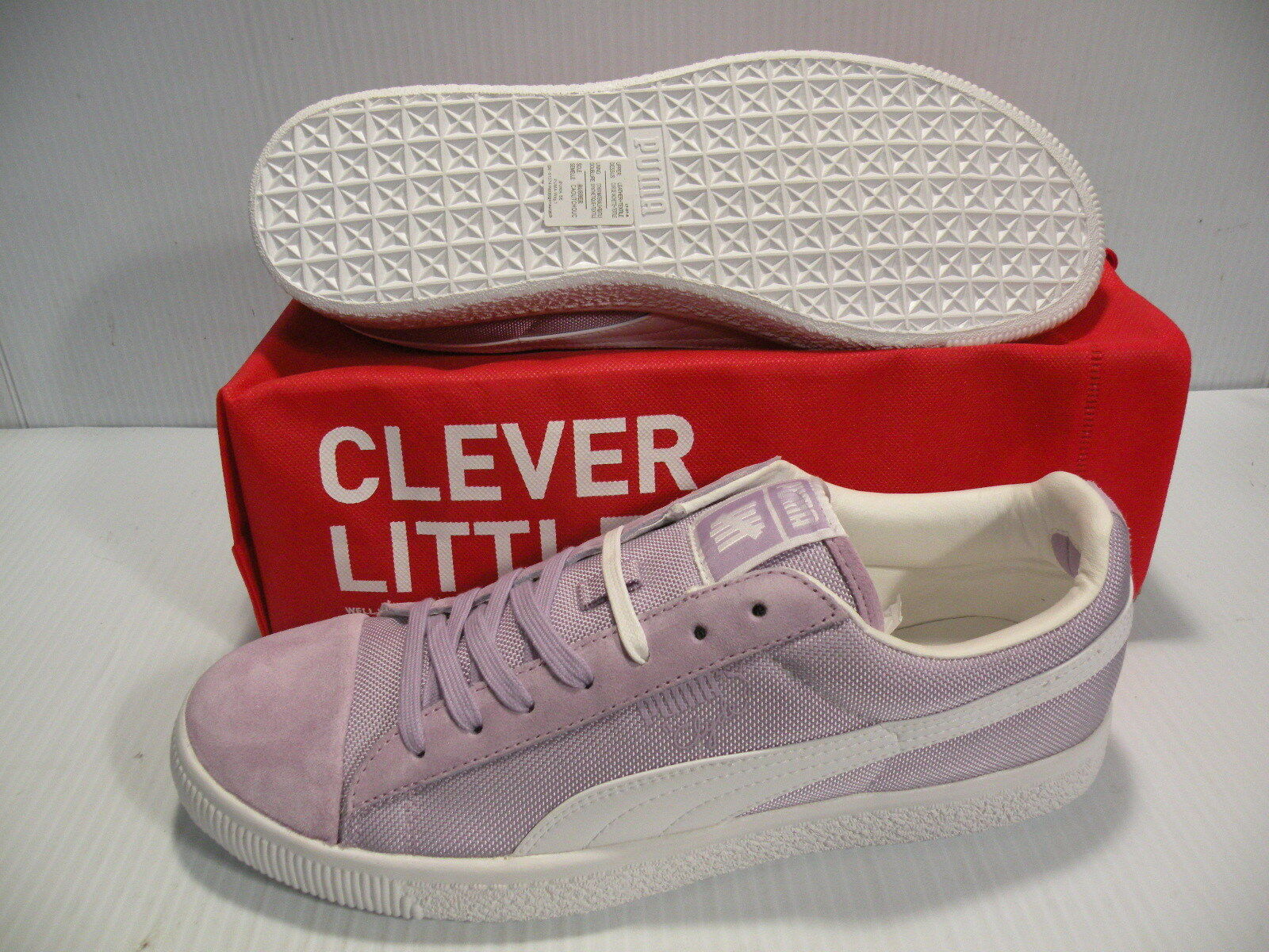 PUMA CLYDE X UNDFTD BALLISTIC SNEAKERS MEN SHOES SORBET 353920-04 SIZE 11 NEW