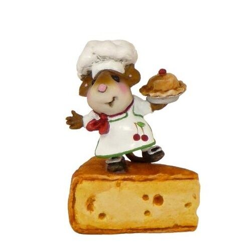 Wee Forest Folk Folk Folk TM-1 Bon Appetit  Miniature Figurine 3844ba