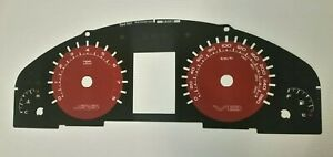 Holden VE SS Commodore Red Hot dial fascia may suit HSV SV6 VRX8 Omega *Genuine*