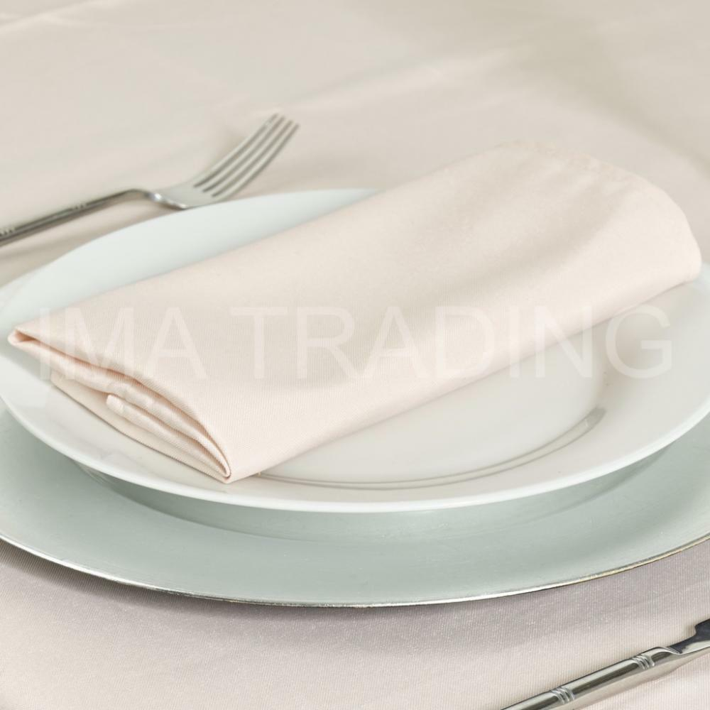 NUDE ROUND TABLECLOTH POLYESTER TABLE CLOTH VARIOUS SIZES