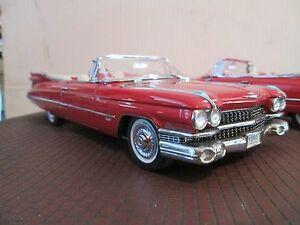 1959 Cadillac 59 Rouge Convertible 1 Danbury Mint 1:24 Peinture Questions