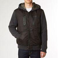 Fox Racing Marauder Sasquatch Zip Hoody Fleece Jacket Black Mens M-xl 14927-001