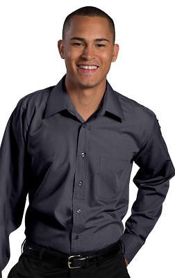 Edwards Garment Men/'s Button Front Chest Pocket Long Sleeve Work Shirt 1160