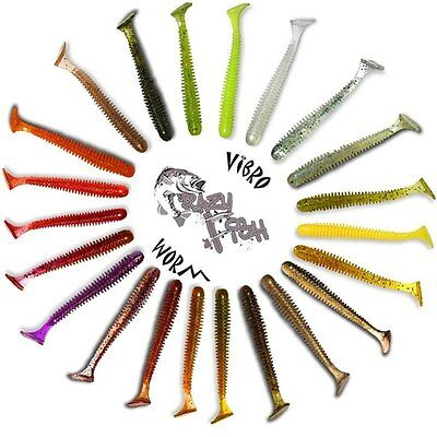 Crazy Fish Vibro Worm 8,5/ cm