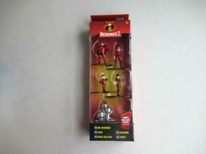 Nano-metalfigs-Disney-Pixar-Incredibles-2-die-cast-metal-chiffres-Jada-Toys-Neuf-En-Paquet