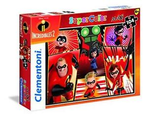 New-Clementoni-Supercolor-Disney-The-Incredibles-2-104-Piece-Maxi-Jigsaw-Puzzle