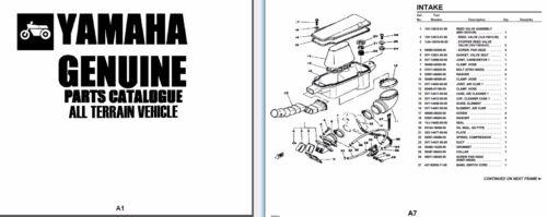 YAMAHA TRI-MOTO YT125 and YT175 SERVICE Owner's & Parts Manual CD ...