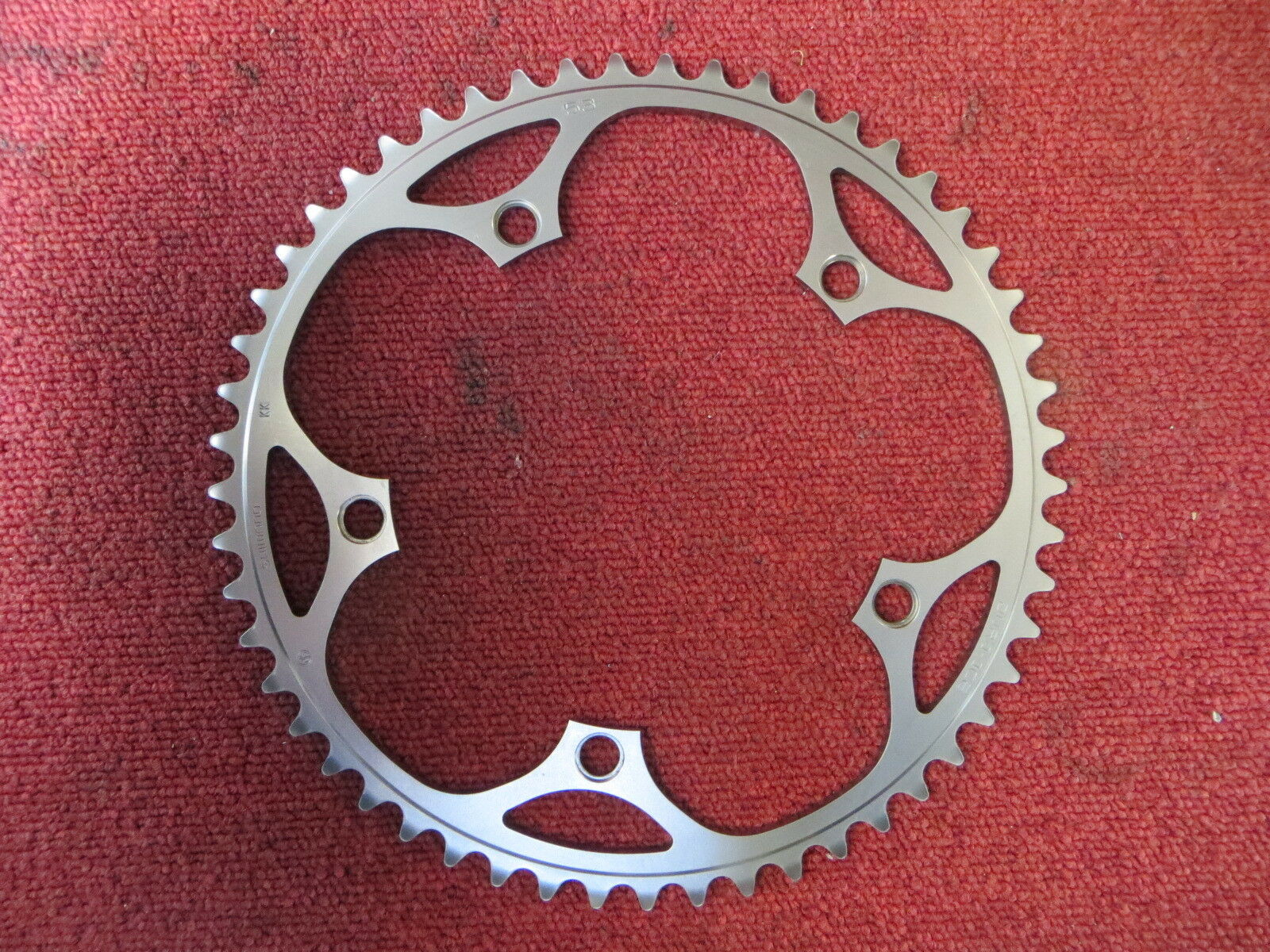 Shimano Dura Ace FC-7710 144BCD 1 8   NJS Chainring 53T Fixed Gear  (19020442)