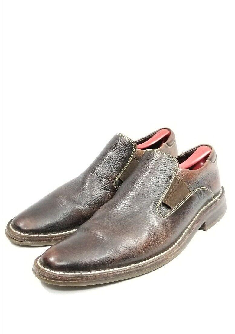 Cole Haan, hombre, zapatos de Guijarro marrón, zapatos recreativos c04433 SZ 10 m.