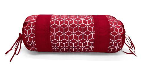Luxury Sparkle Embossed Velvet Silver Foil Print Bedspread Pillowshams Neckroll