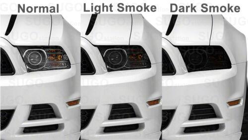 "12/""x84/"" Gloss Dark Black Smoke Tint Film Lens Vinyl Wrap Taillight Headlight"