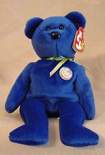 TY - Clubby The Beanie Baby - Official Club Bear - Blue