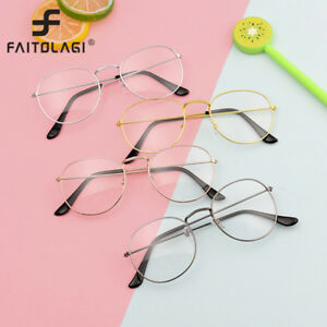 5fd48fc445ee Image is loading Fashion-Unisex-Vintage-Retro-Round-Circle-Mirror-Lens-