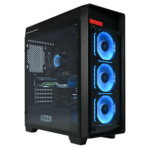 Configurator: AZZA Obsidian Gaming PC RGB LED amd ryzen Water Cooled nvme Win10