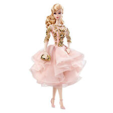 2017 Barbie  Blush & Gold Cocktail Dress Silkstone Poseable Robert Best BFC