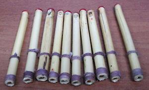 """Aimable Lot De 10 2"""" Pouces Miniature Cornemuse Canne Reeds-afficher Le Titre D'origine"""