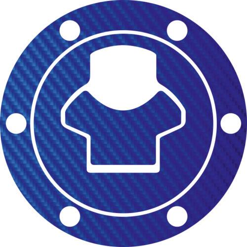 04-07 bouchon de réservoir CarbonLook Film Bleu R1200gs Mod