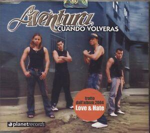 AVENTURA - Cuando volveras - CDs SINGOLO NEW 4 TRACKS - Italia - AVENTURA - Cuando volveras - CDs SINGOLO NEW 4 TRACKS - Italia
