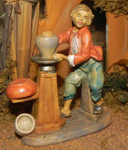 Nativity Scene Villager Figurine Euromarchi Presepio Figura para Pesebre