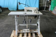 Brother Industrial Sewing Machine Db2 B791 015a With Table And Foot Pedal 220v